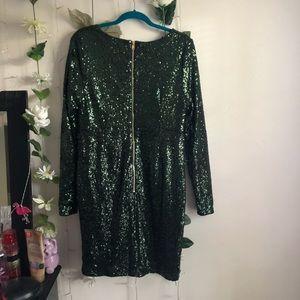 Charlotte Russe Dresses - Charlotte Russe | Emerald Green Sequin Dress
